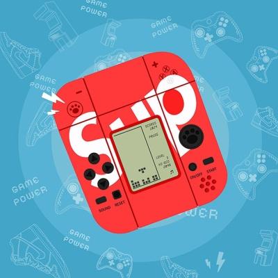 에어팟프로케이스 1 2세대 미니 게임기 철가루스티커