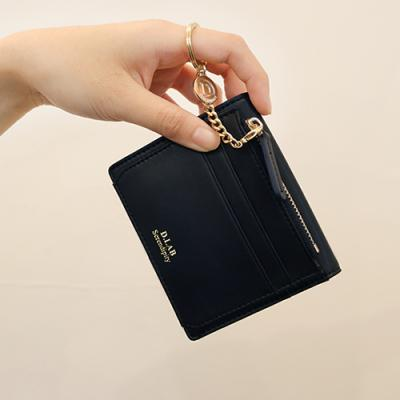 D.LAB Coin name card wallet  - Navy