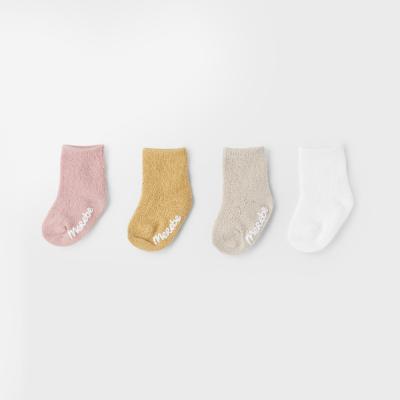[메르베] 지그재그 아기양말_사계절
