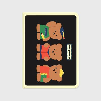 Smart bear friends-black(아이패드-커버)