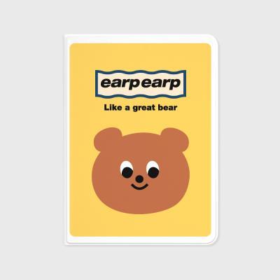 Eyes bear-yellow(아이패드-커버)