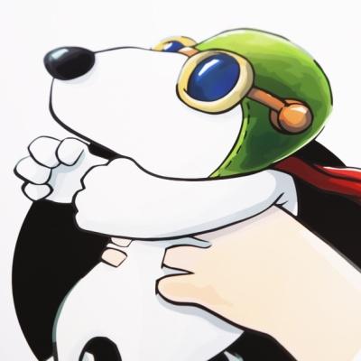 [4만마켓] Hand over Hero 스누피