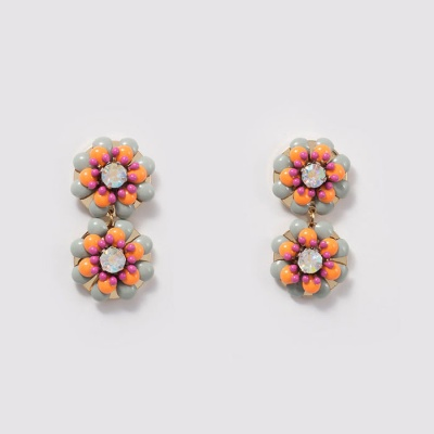 Flower Garden earring [ORANGE]