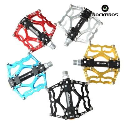 락브로스 자전거 알루미늄 평페달 경량 논슬립 페달