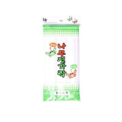 일회용 나무 위생 젓가락 캠핑 음식 식기 저분 24p