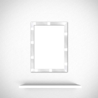 varie 바리에 메탈 실버 컬러 프레임 12x17
