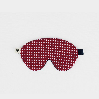 Vernon sleep mask 005 dot wine