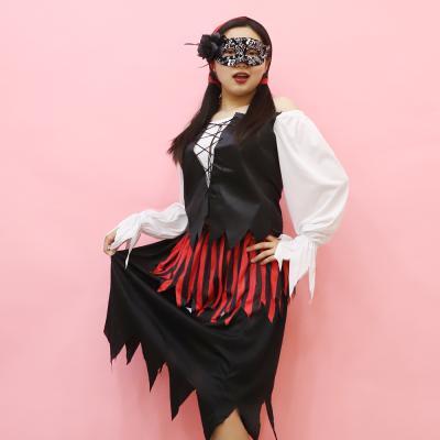 여자 해적 의상 (할로윈성인여성)