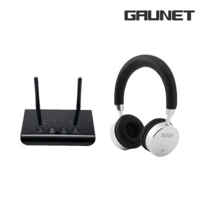 가우넷 블루투스 송수신기 헤드폰 세트 TR02 + H68N