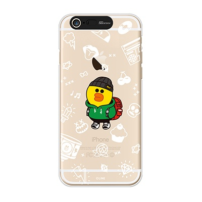 iPhone6/iPhone6+ LINE FRIENDS SALLLY TRAVEL Light UP Case