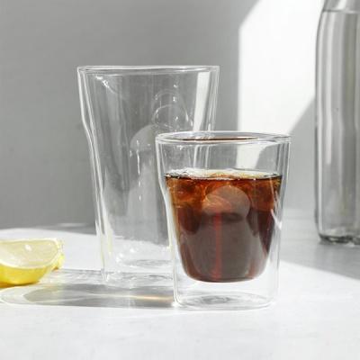 [DDUDDU] 푸코 트윈 글레이즈 이중 유리컵 소 250ml