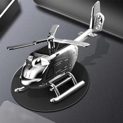 태양열 회전 헬기 차량용 방향제 디퓨저 피규어 선물