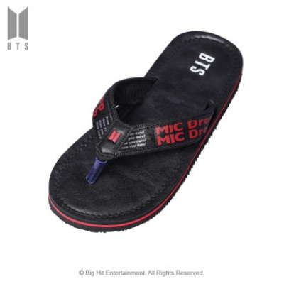 [BTS 공식라이센스] BTS MIC DROP FlipFlops003