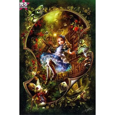 [애플원] 직소퍼즐 / 1000조각 / 환타지 시리즈 - 사랑하는 앨리스 / 야광퍼즐 / 1000-660 / 일본직수입 / 무료배송