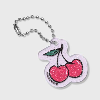 Love cherry(글리터키링-퍼플)