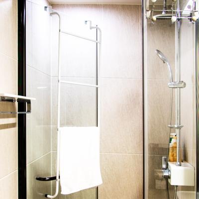 화이트메탈 문걸이 주방 화장실 욕실 수건 타올 걸이