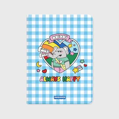kkikki always happy-blue(아이패드-커버)