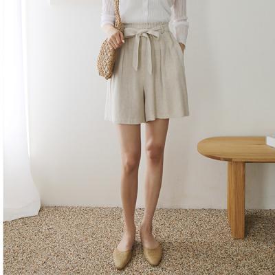 Linen Ribbon Shorts