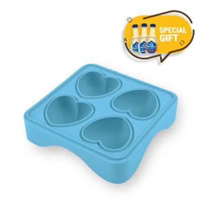 국산 실리콘 홈카페 하트 얼음틀 4구 탄산수 3P세트