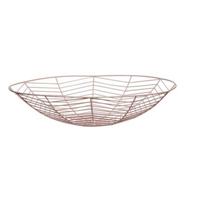 [hubsch]Bowl metal rose 디자인바스켓670107