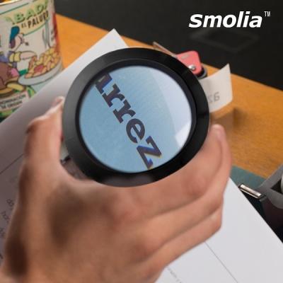 [스몰리아] 건전지형 LED확대경 돋보기 Smolia-L