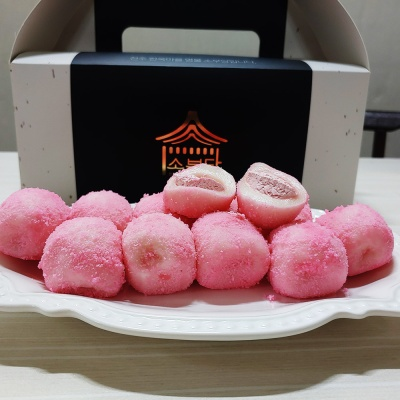 [소부당] 딸기 카스텔라 생크림떡 간식 생크림치즈 찰떡