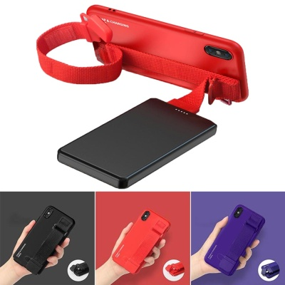 아이폰11 PRO MAX 충전케이블 그립 스트랩 하드케이스