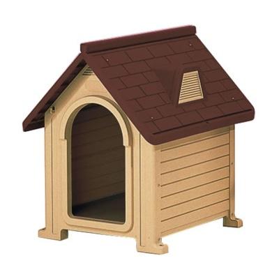 반려 동물 강아지 고양이 휴식 공간 펫하우스 브라운