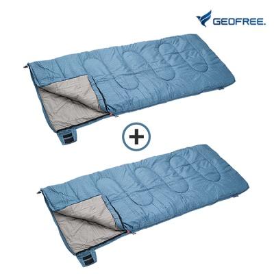[지오프리] 1+1 블루워싱 침낭 2 GF420001S