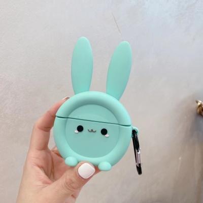 에어팟 프로 1 2세대 토끼 캐릭터 실리콘 키링 케이스