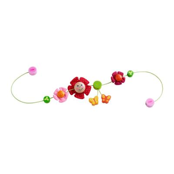 [하마비즈]꽃과 나비 유모차 노리개