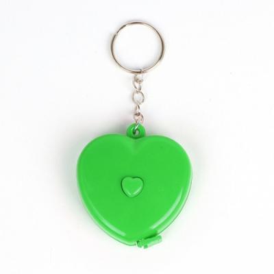 러블리 열쇠고리 줄자1개(색상랜덤)