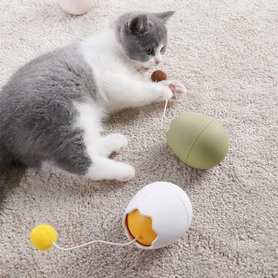 쿠키캣 자동 회전 고양이 장난감 오뚜기 냥냥펀치