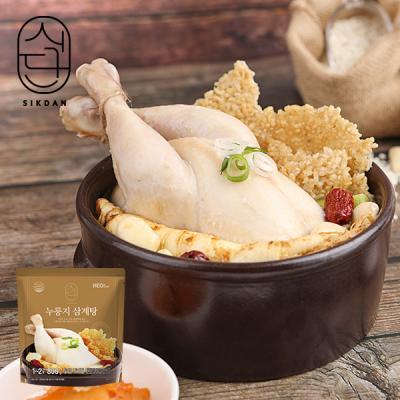 [허닭] 식단 누룽지 삼계탕 800g 4팩
