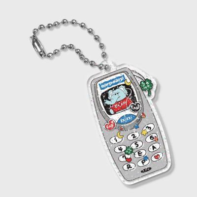 kkikki retro cell phone(글리터키링)