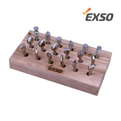 EXSO엑소 가죽공예 인두기 EXL-290 팁 세트 EXL-18SET