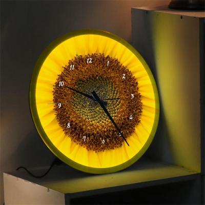 ng510-LED시계액자35R_거실을밝혀주는해바라기