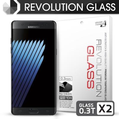 레볼루션글라스 0.3T 강화유리 액정필름 갤럭시노트FE