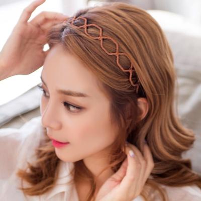 육각 꼬임 포인트 머리띠