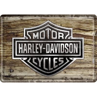 노스텔직아트[10119] Harley-Davidson Wood Logo