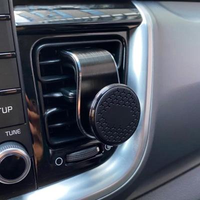 [걸이두기] 차량용 휴대폰 자석거치대 360도 회전형