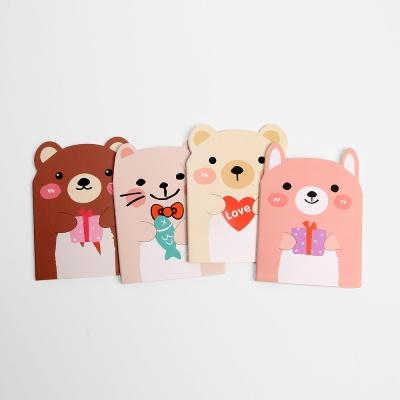 귀여운 미니수첩 10p세트 동물수첩