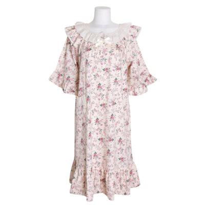 [쿠비카]큐티 포켓 플라워 원피스 여성잠옷 W744