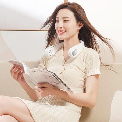 입체바람 넥밴드 휴대용 선풍기