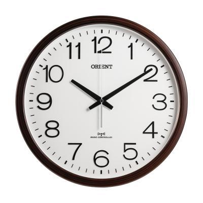 오리엔트 야간무소음 OT766RC 자동맞춤 전파벽시계