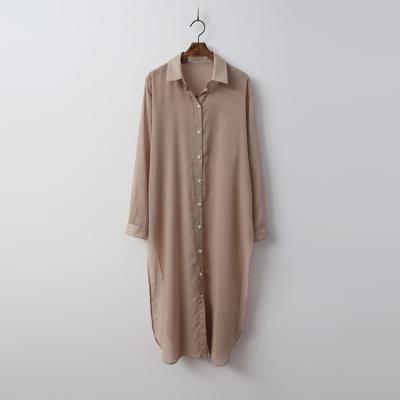 Agnes Slit Long Shirts