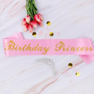 생일어깨띠 Birthday Princess/ 파티 용품 소품