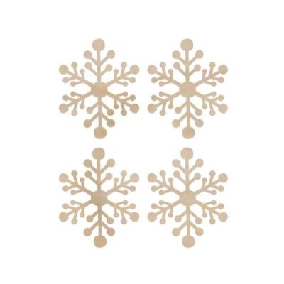 우드장식 Mini Snowflakes