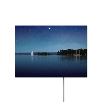 NAPAL 나팔 인테리어 액자 블루투스 스피커 H001-HALF