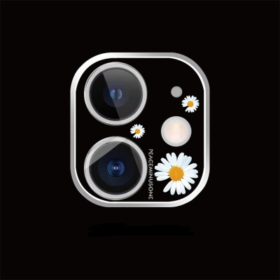 아이폰11promax 카메라 렌즈 보호 캐릭터 필름 커버